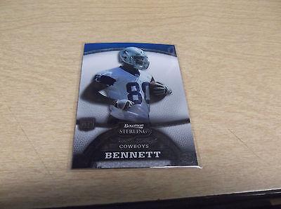 Martellus Bennett 2008 Bowman Sterling  43 Rc Card New England Patriots