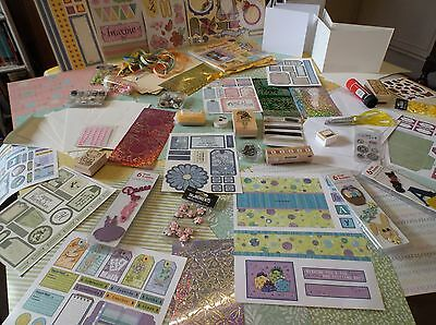 CARD-MAKING CRAFT ROOM CLEAR-OUT -  JOB LOT