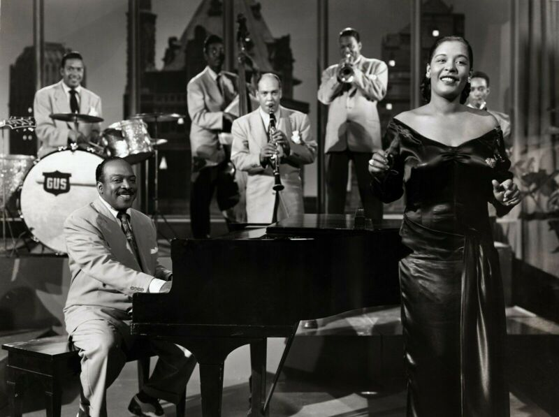 BILLIE HOLIDAY 8X10 GLOSSY PHOTO PICTURE IMAGE #4