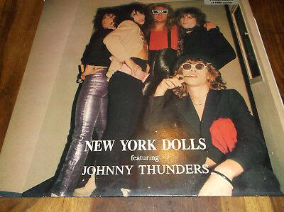 "NEW YORK DOLLS ft. JOHNNY THUNDERS 'Looking For A Kiss' 12"" White vinyl"