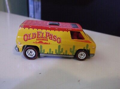 Hot Wheels Pop Culture Old El Paso Super Van General Mills