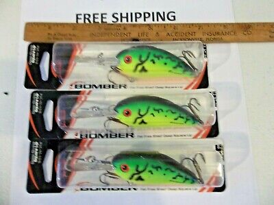 Tennessee Shad Bomber Fat Free Guppy 3//8 oz Fishing Lure