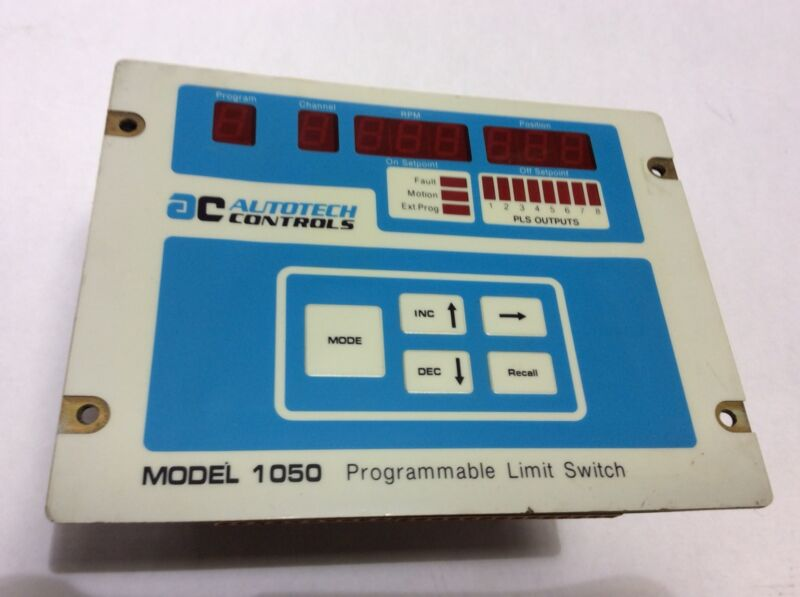 Autotech Controls Model 1050 Programmable Limit Switch USED