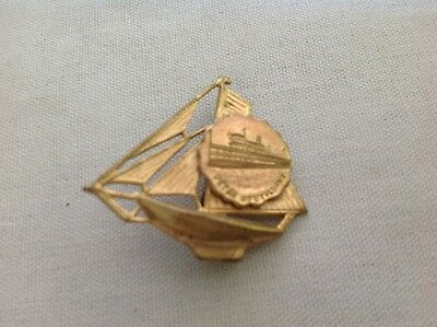 Peter Stuyvesant Commerorative Sailboat Pin