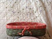 Longaberger Scalloped Boutique Basket