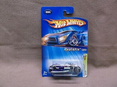 HOT WHEELS 2005 FE #004 AIRY 8 HOT ROD V8 DRAG RACING MOTORCYCLE LONG CARD
