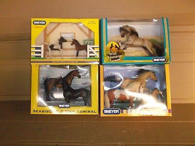 Breyer Horse Lot of 4.