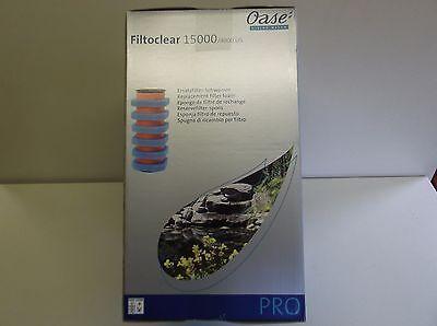 Oase Filtoclear 15000 Foam set genuine filters Koi fish pond 56884