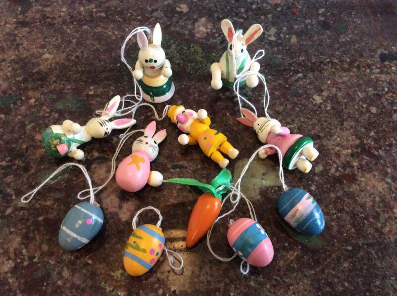 Vintage Miniature Easter Tree Ornaments
