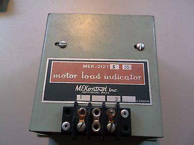 Mekonrol Mek-2127 Motor Load Indicator Free Shipping