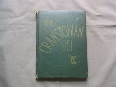 Yearbook Annual The Cranstonian 1951 51 Cranston High School Rhode Island
