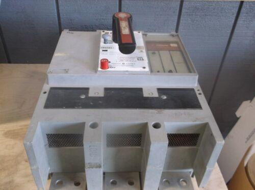 Ge Powerbreak Tpvf5616 1600a 3p 600v Mo/fm Circuit Breaker