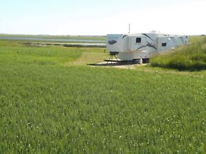 FREE RV SITE PAD NEAR AIRDRIE CAMPGROUND