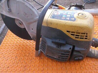 Used Demo Chop Wacker Neuson Model Bts 635s 14 Cutoff Saw Concrete Water Cooled