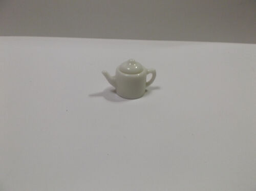 Miniature Doll House Porcelian Teapot With Lid