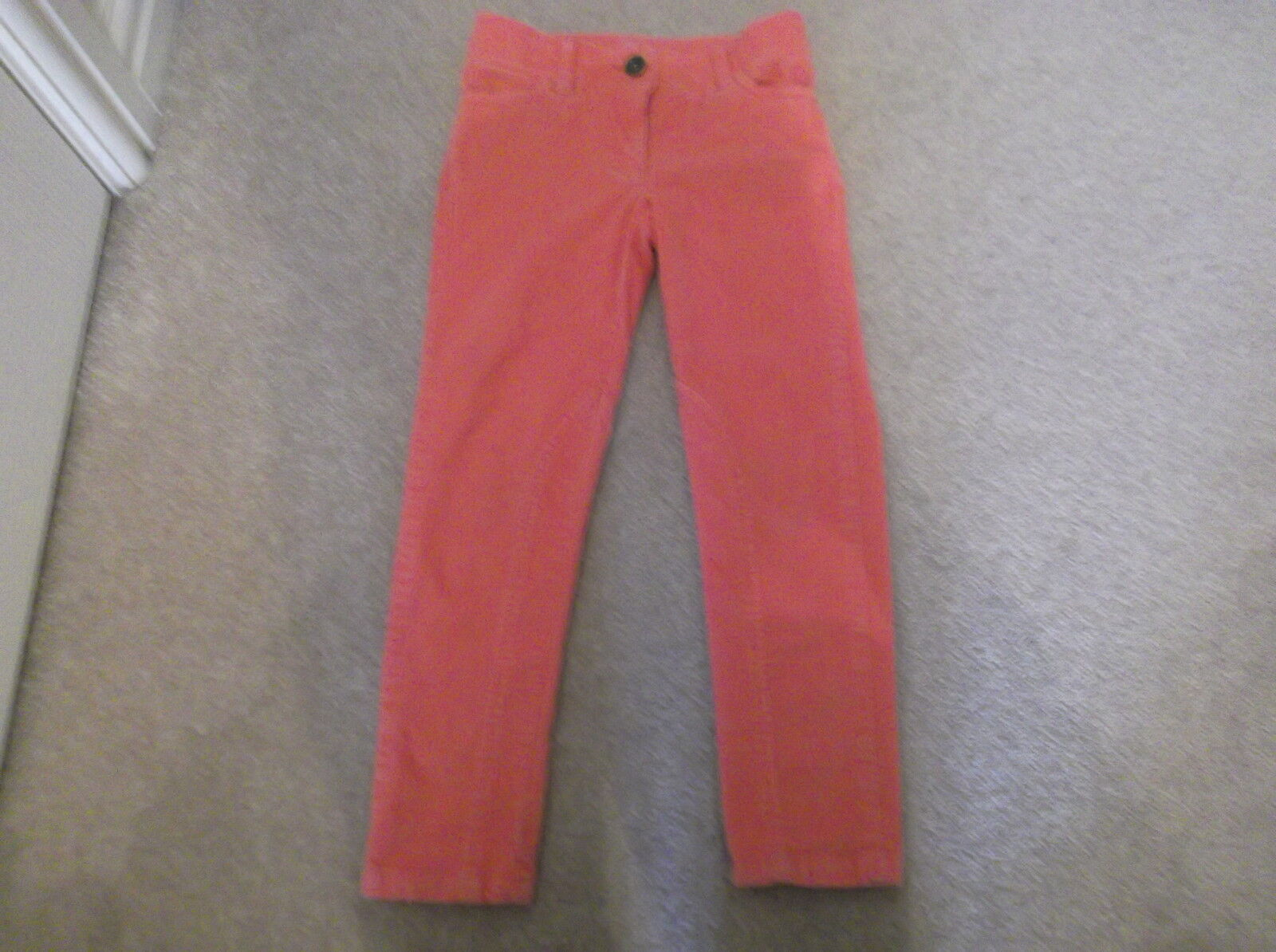 Crew Clothing Girls Coral Skinny Jeans Age 5