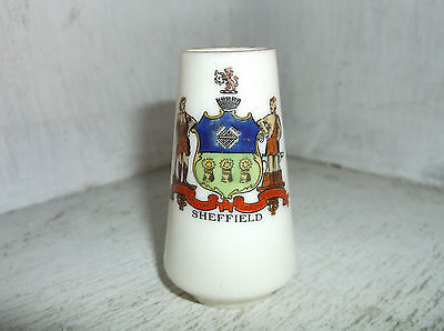 Souvenir For J B Eaton Egyptian Pottery SHEFFIELD Crest Ware Miniature Vase