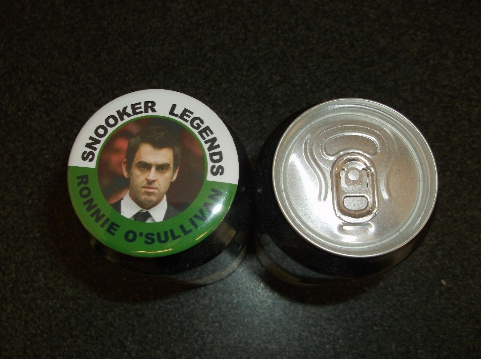 RONNIE O'SULLIVAN  SNOOKER LEGEND MAGNET   55MM  IN SIZE