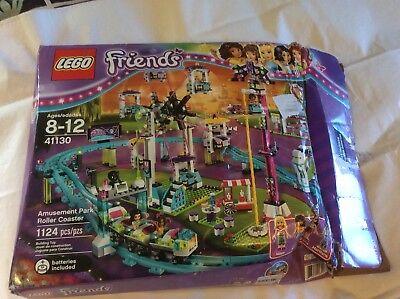 New Lego 41130 Friends Amusement Park Roller Coaster