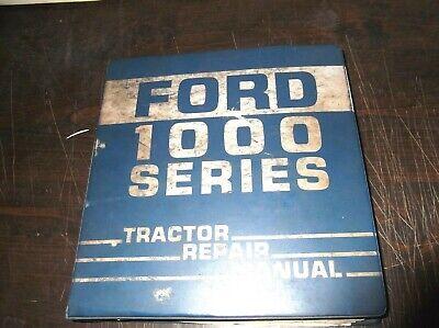 Ford 1000 Series 1100 1300 1500 1700 1900 Tractors Service Repair Manual