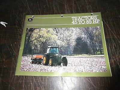 Original John Deere 2150 2350 2550 2750 2950 Tractor Sales Brochure
