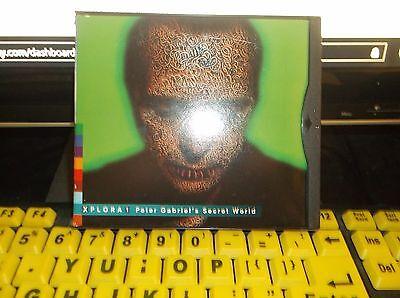 SECRET WORLD XPLORA 1 CD BY PETER GABRIEL-FREE SHIPPING