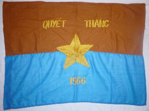 VC CAR FLAG - Viet Cong - 1966 - NATIONAL LIBERATION FRONT - Vietnam War - 2739