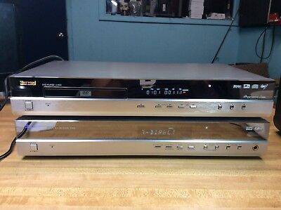 Dvd-player Av-receiver (Sherwood Newcastle V-903 Universal DVD Player & R-903 AV Receiver Amplifier RARE)