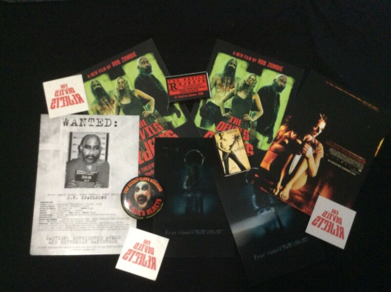 Random Horror Movie Promo Materials Rob Zombie The Ring Devils Rejects