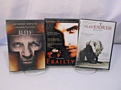 3 DVD Horror Movie Pack #29 The Rite, Frailty, The Last Exorcism](The Last Halloween Dvd)