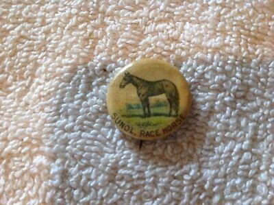 Sunol, Race Horse. American Pepsin Gum Celluloid Pin Back Button