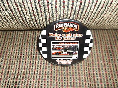 2005 NASCAR KEN SCHRADER RED BARON PIZZA PIN