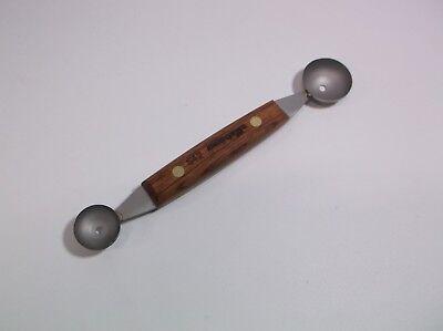 Dexter Russell Parisian Cutter Melon Ball Scoop 7/8 11/8 Pro Garnishing Tool S42