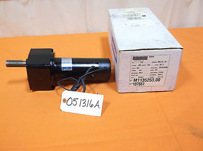 New Leeson Electric Motor With Gear Reduction Gearmotor Dc 60 Volt 15 Hp 27rpm
