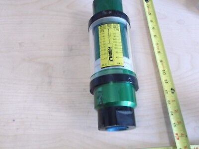 Omega Flow Meter Fl-8309 10-100 Gpm 1-12 Threaded