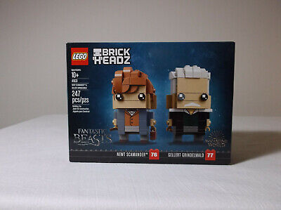 LEGO BRICKHEADZ 41631 Newt Scamander & Gellert Grindelwald FANTASTIC BEASTS -NEW