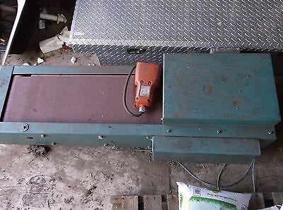 Us Metal Works Belt Grinder