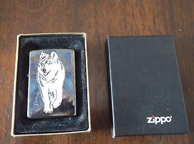 Zippo Lighter - Wolf Picture - 2006