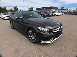 2015 Mercedes Benz C-Class C400 4MATIC/ AMG PKG/ FULLY LOADED/ D
