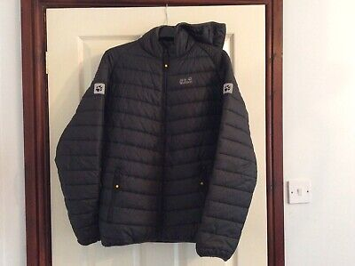 Boys Jack Wolfskin Stormlock Insulated Quilted Puffa Jacket EU176 Age 15/16