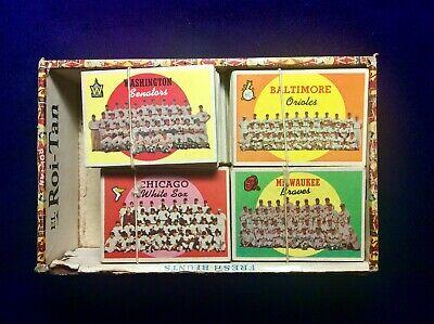 1959 Topps Baseball Card Boyhood Collection in Cigar Box - Original Owner