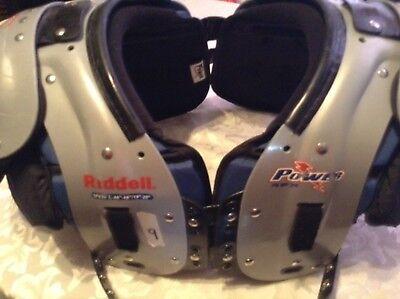 Riddell Power SPX 30 football shoulder pads Adult large 46-48