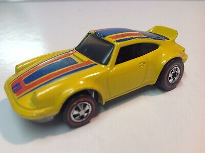 1974 Hot Wheels Redline Flying Colors Porsche P-911 Hong Kong Clean, Low Miles!
