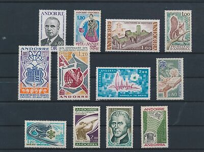 LO15713 Andorra mixed thematics nice lot of good stamps MNH