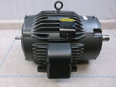 Baldor Double Shaft Output Motor 5 Hp 3 Ph Spec 07j404x255z1 D0197