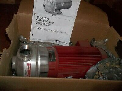 Bell Gossett 3530 Series Centrifugal Pump Liquid Transfer 5 Hp Motor 1am239