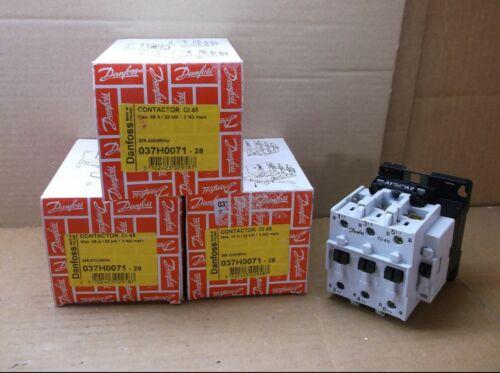 037H0071-28 Danfoss NEW In Box 208-230VAC 45A Contactor Relay 037H007128