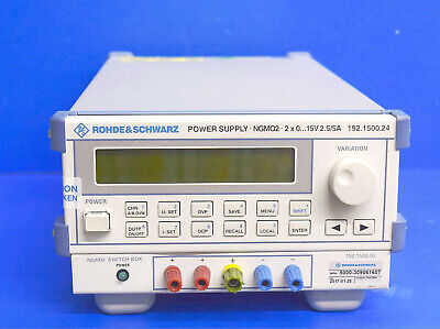 Rohde Schwarz Mgmo2 Programmable Dual Analyzer-dc-power Supply