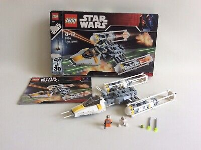 Lego Star Wars 7658 Y Wing Fighter 30th Anniversary Set Box Instructions