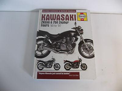 KAWASAKI  ZR550 ZR750 Zephyr  Manual